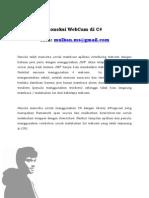 Koneksi WebCam Di C# (CSharp)