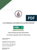 CRM Term Report