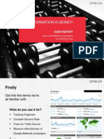 User Report Presentation