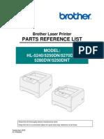 Hl 52xx Part-List