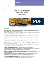 Fast Food and Snacks Industry Guide
