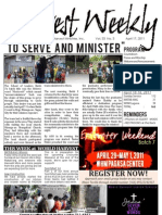 WHM Weekly Newsletter - 17 April 2011