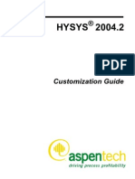 AspenHYSYSCustomizationGuide