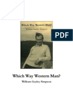 Which Way Western Man