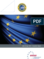 ENISA Cyber Europe 2010 Report