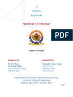 Spintronics Report