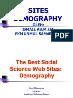 Sites Demography