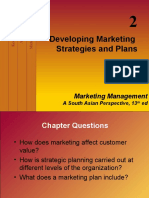 Developing Marketing Strategies