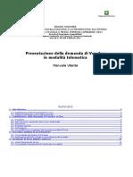 Manuale Presentazione Domanda Voucher 2011 Digitale