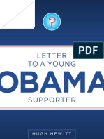 LETTER TO YOUNG OBAMA SUPPORTER
