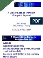European Leasingmarket 2006