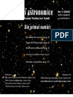 "Revista ""Orizonturi Astronomice"" - nr.1"