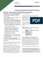 JPM Default Probability Curve