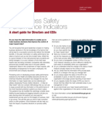 Key Process Safety Performance Indicators a Short Guide for Directors, 2008-03-28