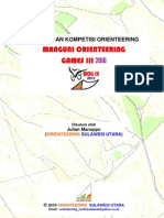 Peraturan Kompetisi Orienteering Mog III 2010