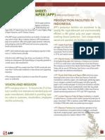 APP Company Background