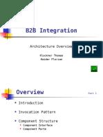 B2B Integration - Architecture