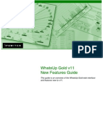 WhatsUp Gold v11 New Features Guide