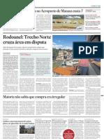 Matéria do Estadão de 22/04 sobre Rodoanel Norte