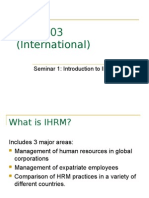 1_Introduction to IHRM