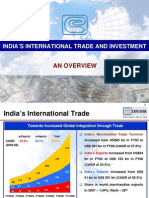 India's International Trade and Investment