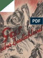 Gas über Deutschland - Mittler & Sohn 1928