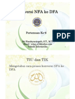 Konversi NFA Ke DFA