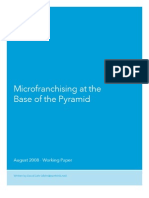 Acumen Fund Micro Franchising Working Paper