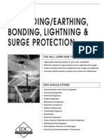 Earthing, Bonding, Lightning Surge Protection