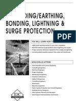 Earthing, Bonding, Lightning Surge Protection