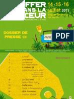 Dossier de Presse 2011 Chauffer Dans La Noirceur