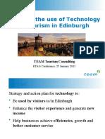 Tourism and Technology Edinburgh Workshop Presentation