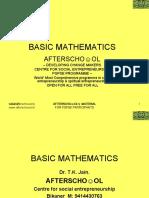 Pavel Basic Maths