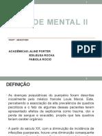 DEPRESSÃO PUERPERALFAFAESTE ESTEAGORA