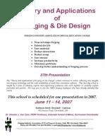 Die Design Program