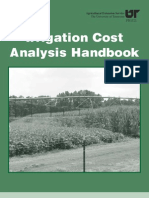 Irrigation Cost Analysis