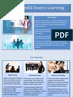 Opened Source Brochure