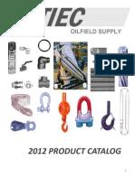 2012 TIEC Oilfield Supply Product Catalog