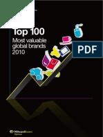 2010 BrandZ Top100 Report