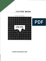 LFM39A Manual