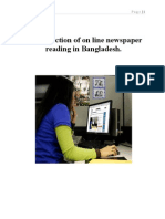 E-Satisfaction of Online Newspaper Reading in Bangladesh.