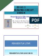 Integrated Circuir Design