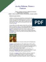 História dos Hebreus, Persas e Fenicios