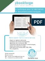 Mybookforge, votre prestataire pour la fabrication de vos livres et documents électroniques