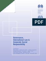 Governance, International Law & Corporate Social Responsibility