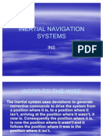 13 Inertial Navigation Systems
