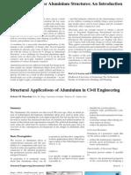 Aluminium Structures Applications