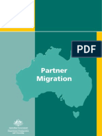 Form 1127-Partner Migration for Australia