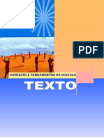 Texto i - Conceitos e Fundamentos Da Sociologia