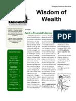 2011 1st Qtr Newsletter